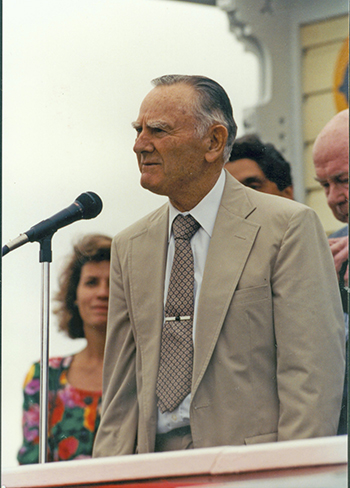 Buddy Raines at Pimlico, 1990