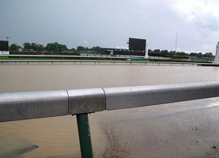 Churchill Downs flood