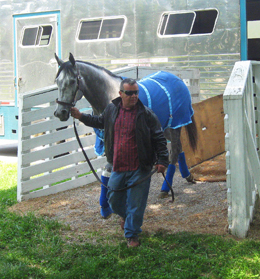 Creative Cause Arrives at Churchill Downs