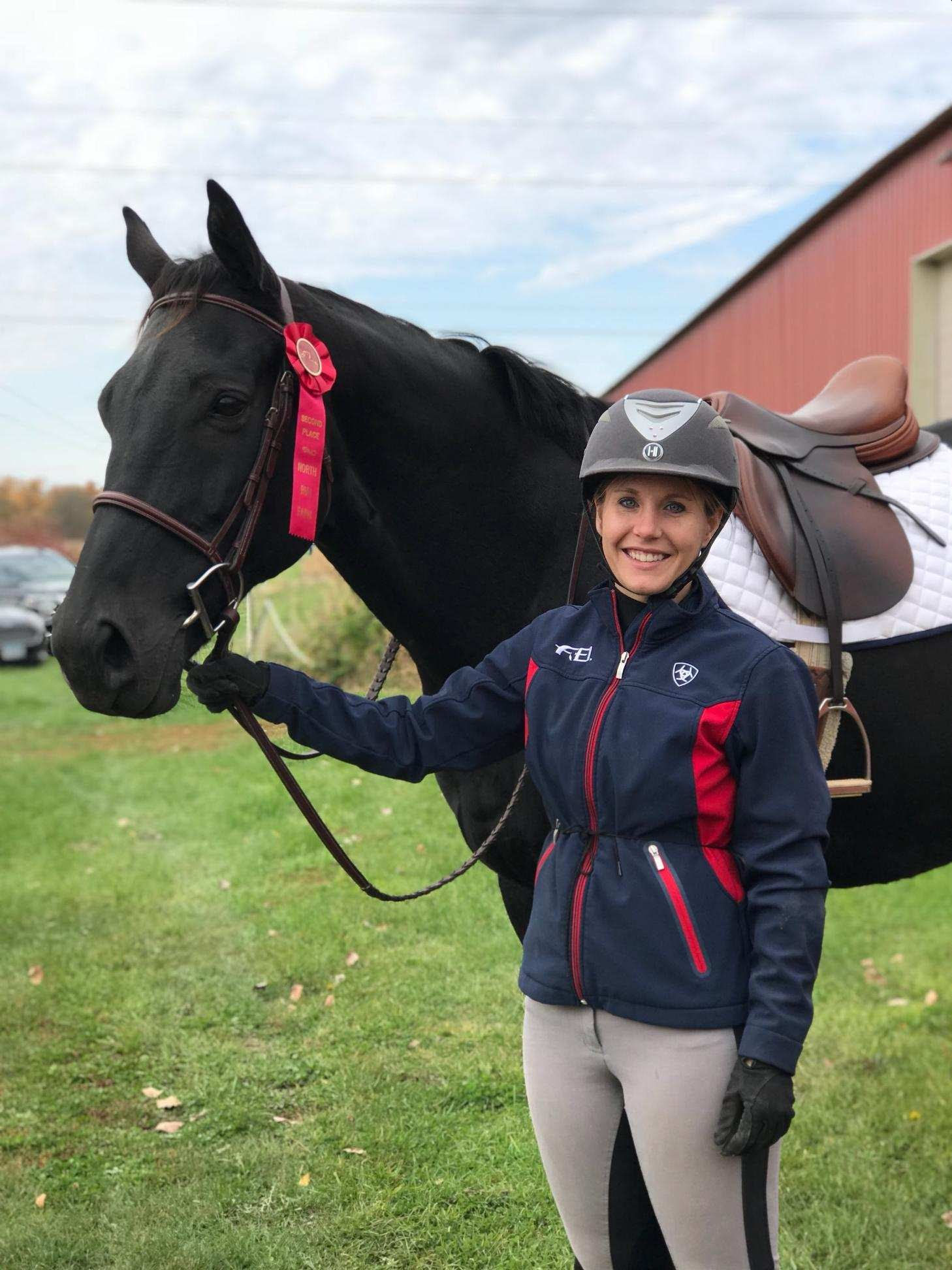 Stephanie Neises and OTTB Purest Form