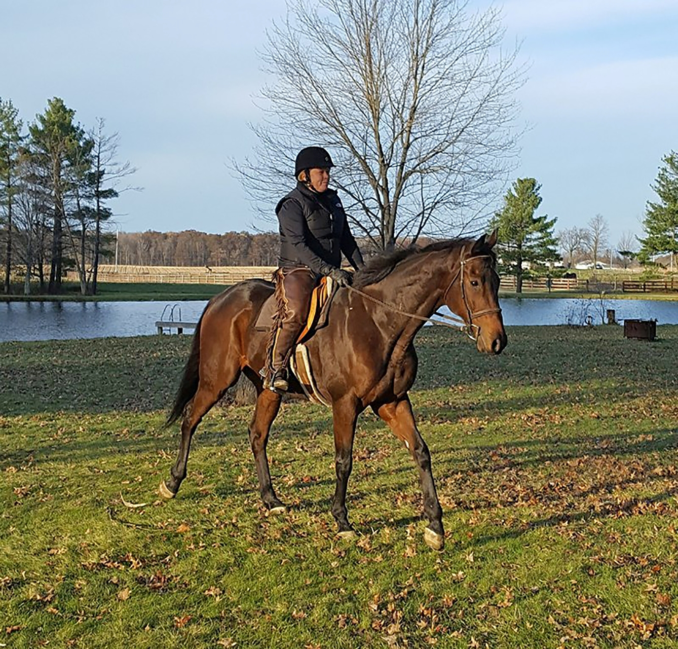 Joy Campbell and Saratoga Boot