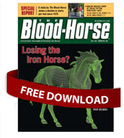 The Blood-Horse magazine: Losing the Iron Horse?