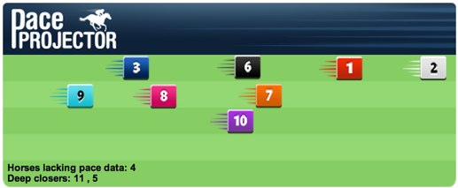 TimeformUS Pace Projector for the Garden City