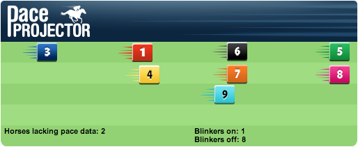 TimeformUS Pace Projector for the Dania Beach