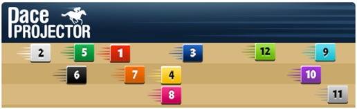 Pace Projector for the Malibu Stakes