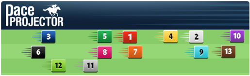 TimeformUS Pace Projector for the Red Smith